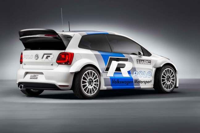 Volkswagen Polo R WRC - Picture by Volkswagen Motorsport.