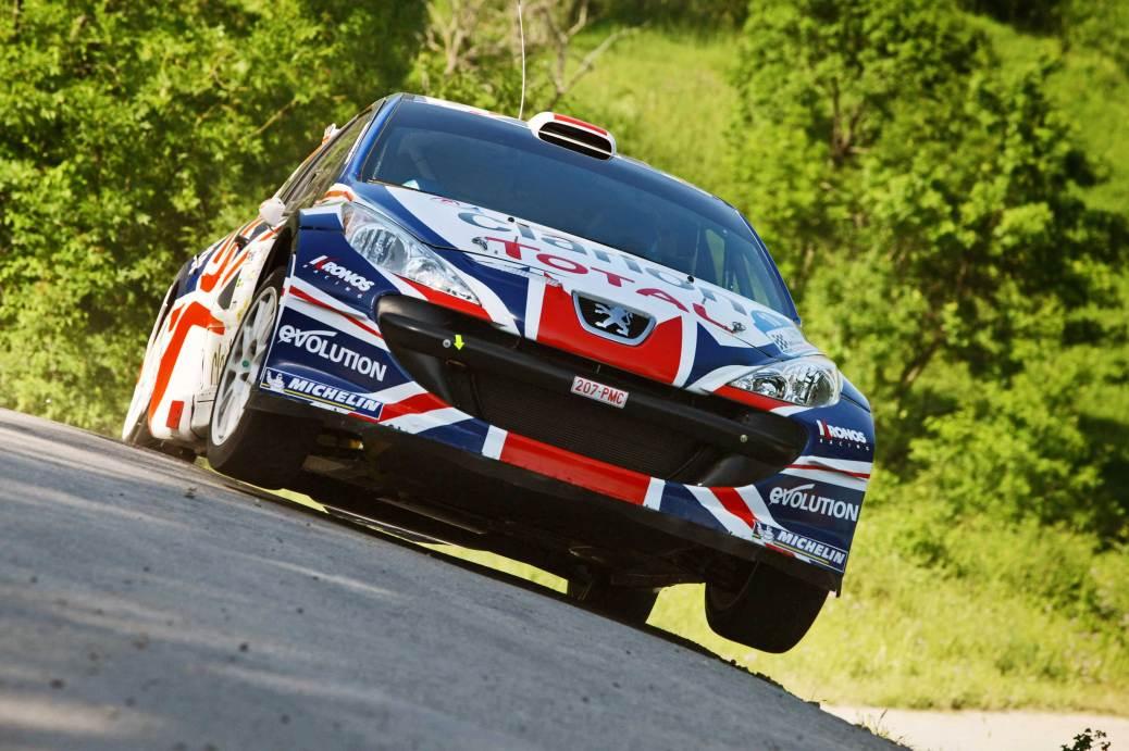 Guy Wilks/Phil Pugh - Picture by Peugeot UK.