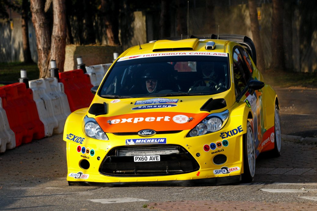 Henning Solberg/Ilka Minor - Picture by WorldRallyPics.