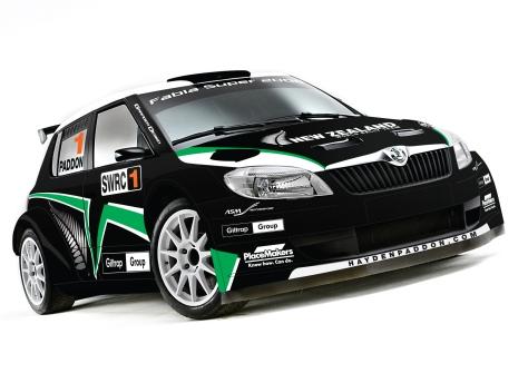 Hayden Paddon_Skoda Fabia S2000 car_livery design