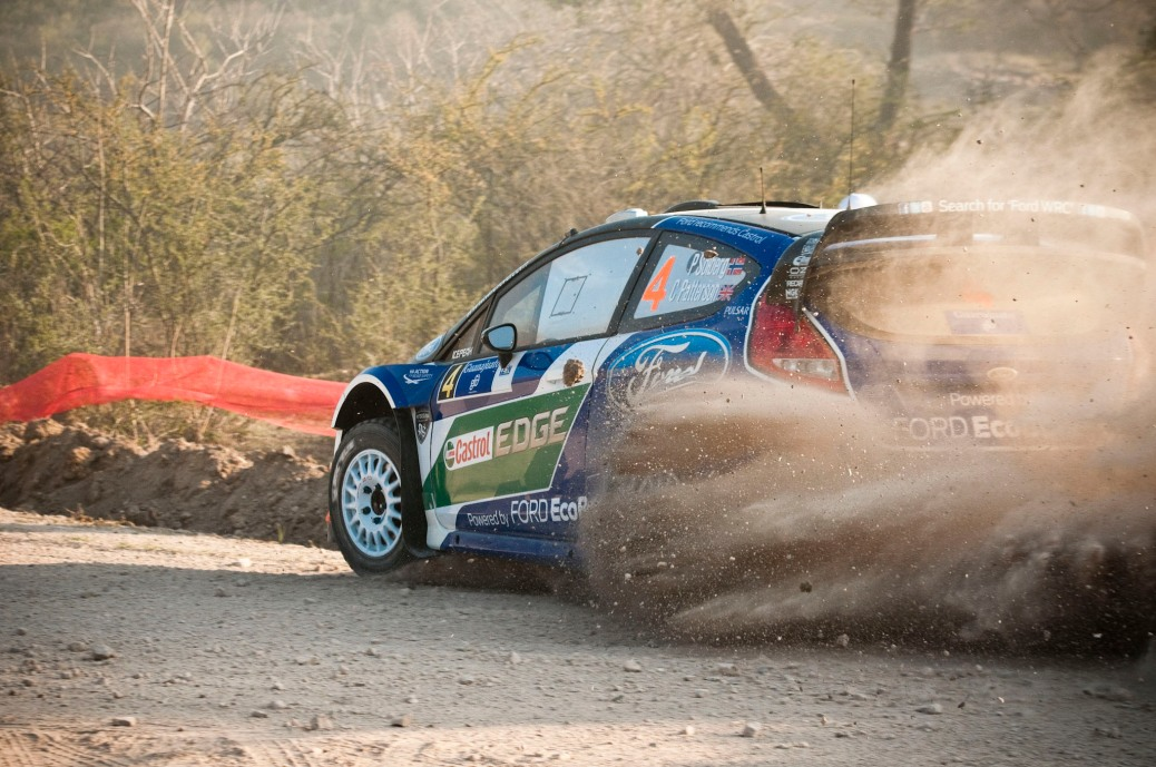 Petter Solberg won the qualifying stage for the Rally Guanajuato Mexico