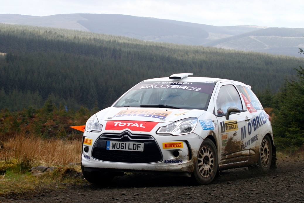 Keith Cronin/Marshall Clarke Citroen DS3