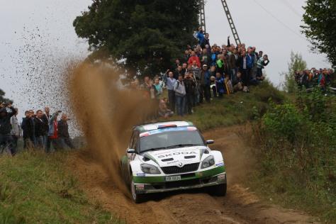 ERC Rally Poland, Mikolajki 13-15  Septmeber 2013
