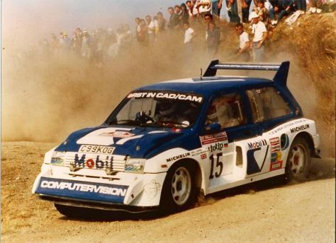 Malcolm Wilson-Nigel Harris Rally Sanremo 1986