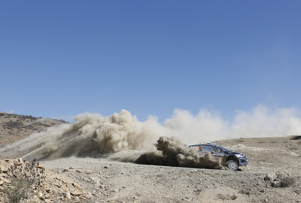 2014 World Rally ChampionshipRound 3Rally MexicoWorldwide copyright: M-Sport