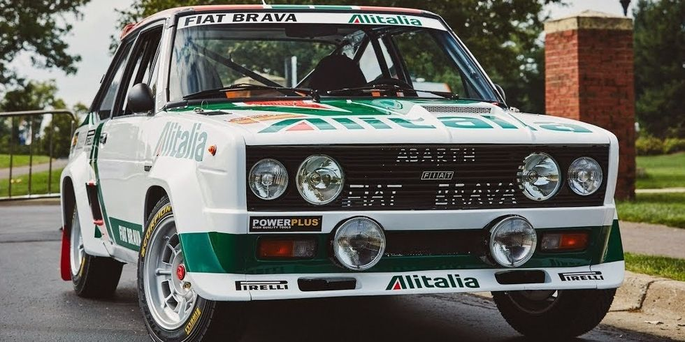 This is a heaven: fully restored 1978 WRC Champion Fiat Abarth 131 ...